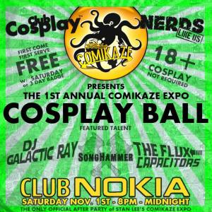 Club Cosplay Comikaze After Party