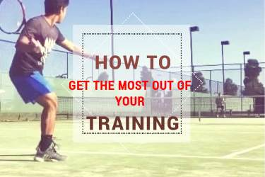 How to practice tennis effectively