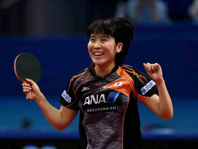 How to behave when you win a point in table tennis