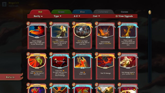 Slay the spire best cards