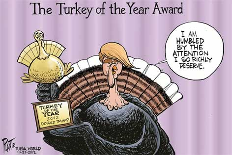 Image result for trump turkey cartoons