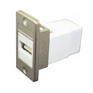 L-com Style Rectangular Opening Panel Mount Adapters