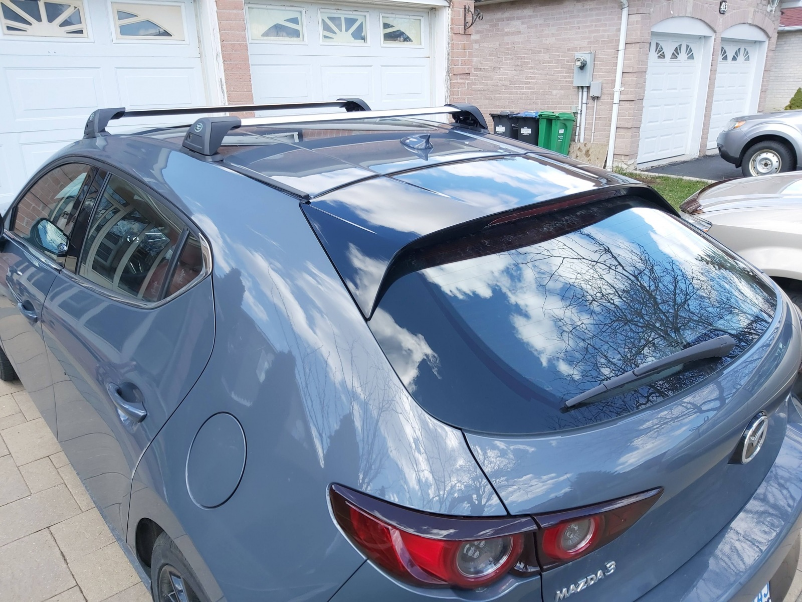2020 mazda 3 fixed mounting points roof