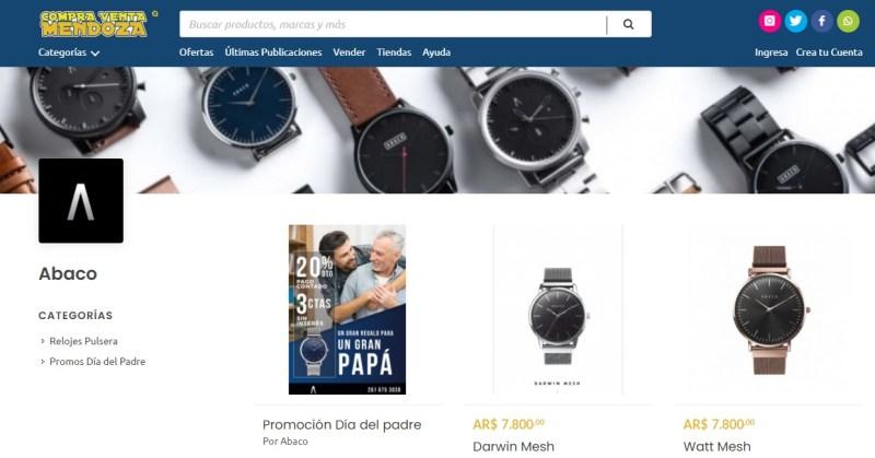 Shopping digital Mendoza