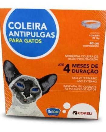 COLEIRA ANTIPULGAS BULL CAT 15G