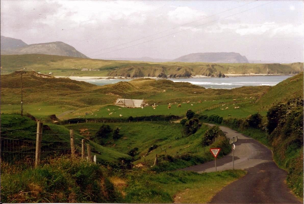 Paysage du Donegal dans la péninsule d'Inishowen en Irlande