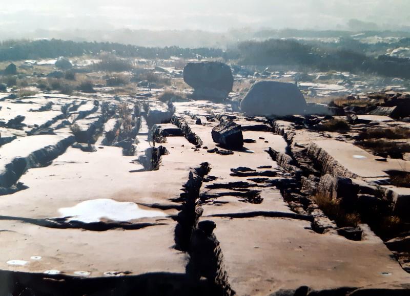 Paysage roche sol Burren