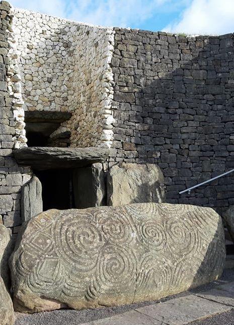 Pierre motifs celtiques Irlande