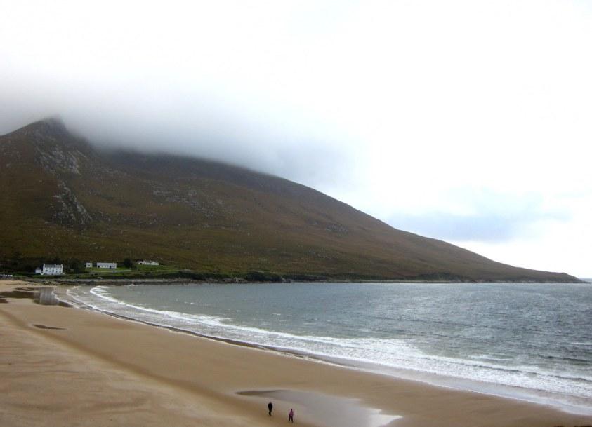 Dugort Beach Achill Island Irlande
