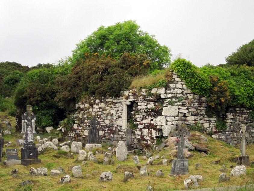 Cimetière celtique Irlande
