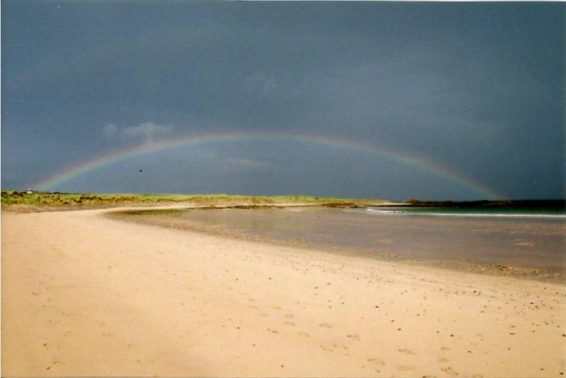 Arc-en-ciel plage Donegal