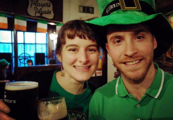 Saint Patrick à Cork Irlande