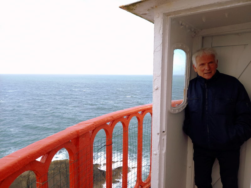 Gardien de phare Irlande