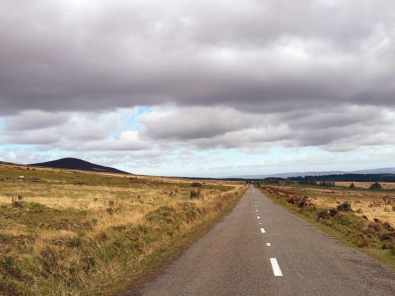 Tour d'Irlande route cabossée