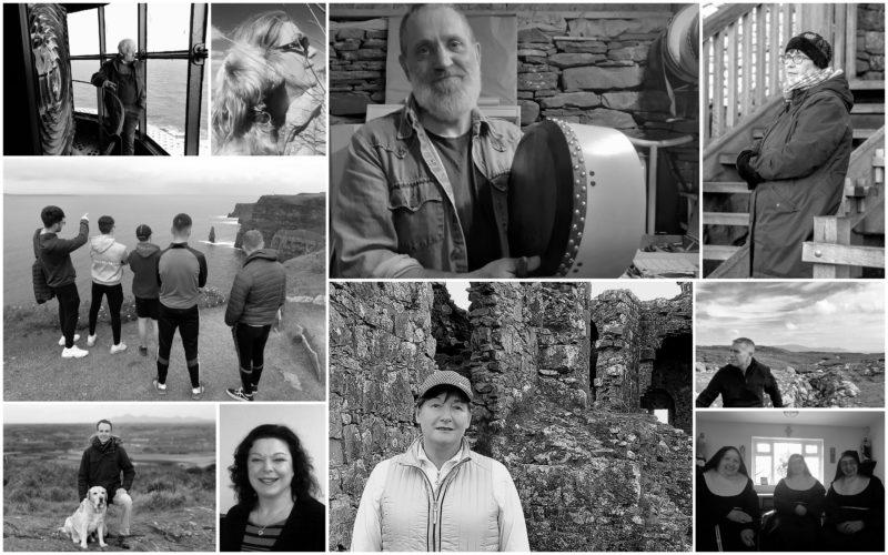 Tour d'Irlande en interviews Portraits publiés au 16062021