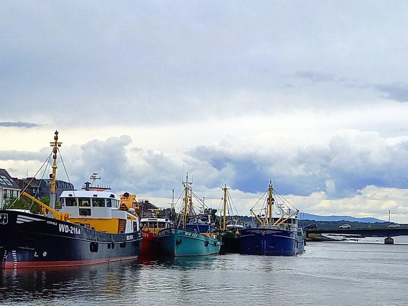 Port de pêche Wexford Irlande