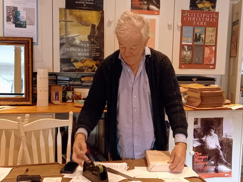 Antony Farrell éditeur de littérature irlandaise