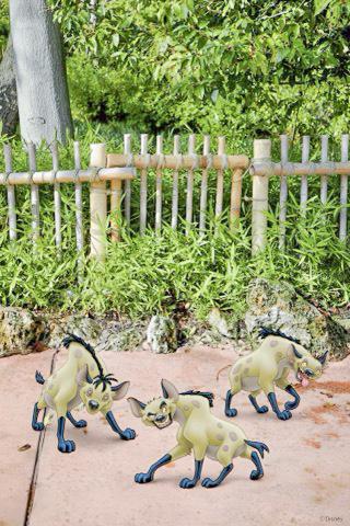 Disneyland Paris Halloween Magic Shot Roi Lion Hyènes