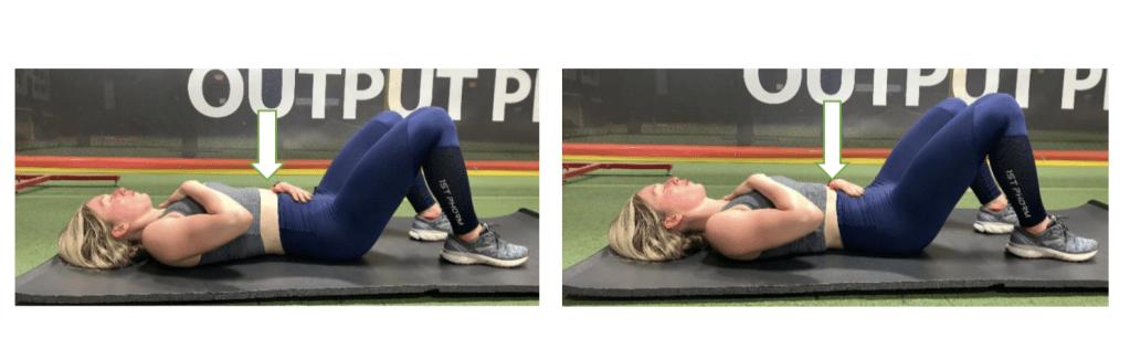 Exercises to help heal diastasis recti
