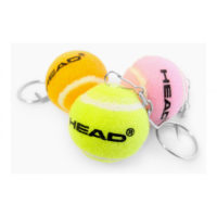 Head Mini Ball Keychain x 1