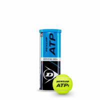 Dunlop ATP Official All Court Tennis Balls X3