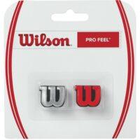 Wilson Pro Feel Dampeners x 2 (Silver / Red)