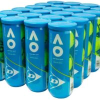 Dunlop Australian Open Official  All Court Tennis Balls X3 (72 Balls)