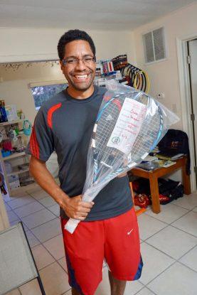 Omar...happy!