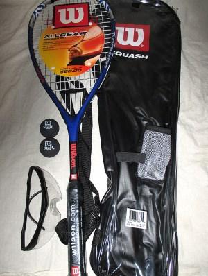 Wilson All Gear Squash Racket Pack - Racquets4Less.com