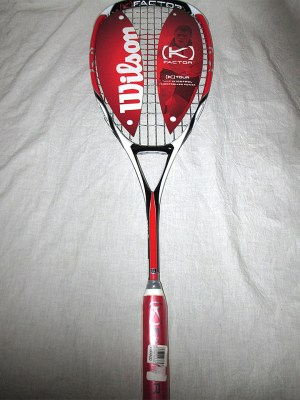 Wilson K-Tour 140 grams Squash Racket - Racquets4Less.com
