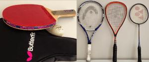 Five incredible rallies - squash tennis badminton table tennis