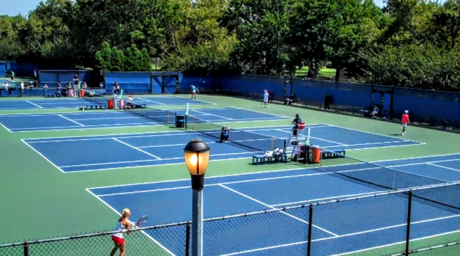 Tennis Training Courts