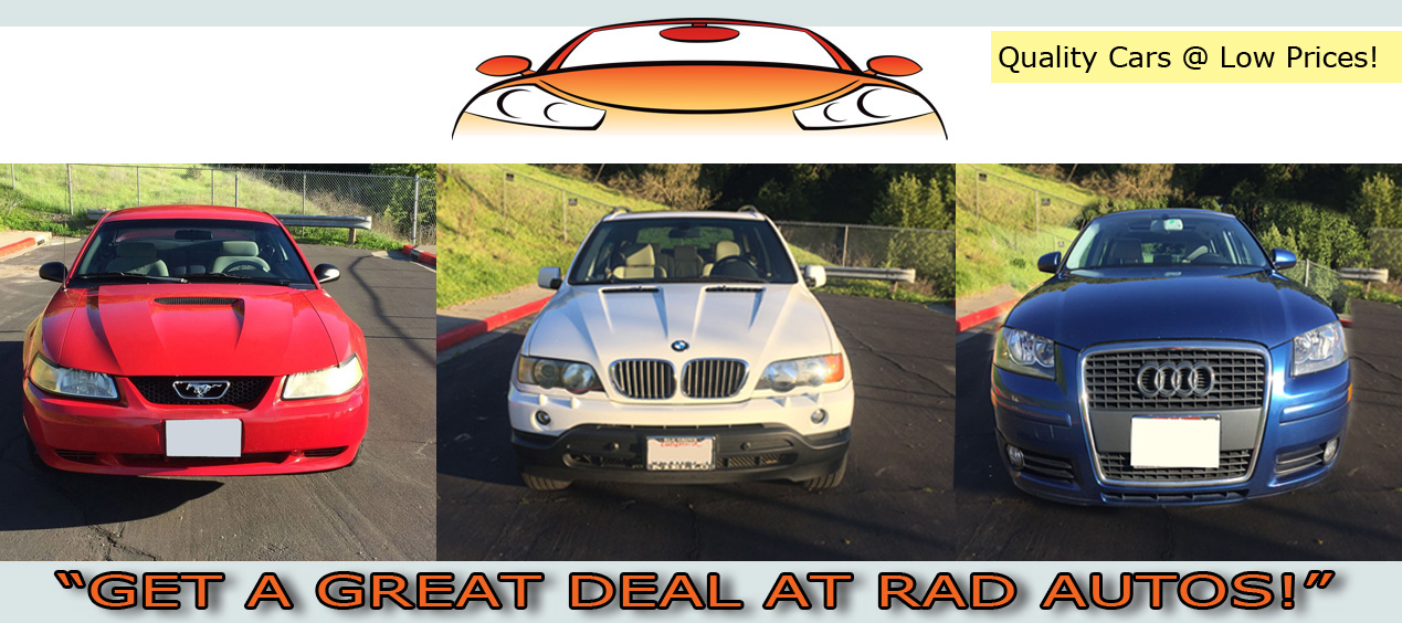 Used Cars Bay Area >> Rad Autos Affordable Used Cars Bay Area San Francisco Affordable