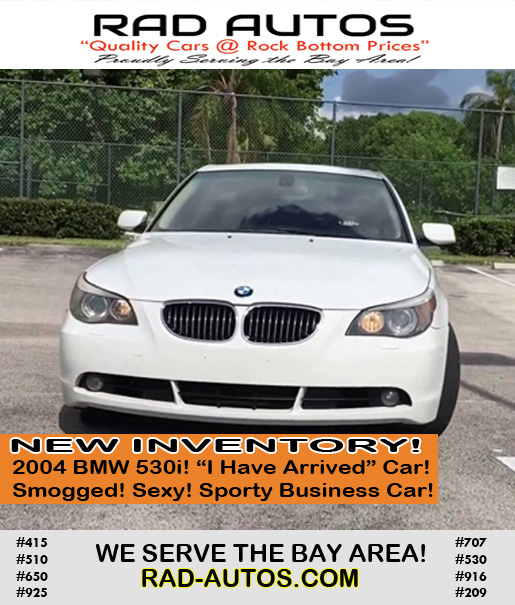 Used Cars Bay Area >> Used Cars Bay Area Vallejo 6 Rad Autos Affordable Used