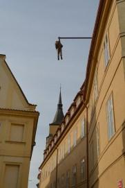 Freud pendurado - Praga
