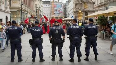 Protesto chique - Viena