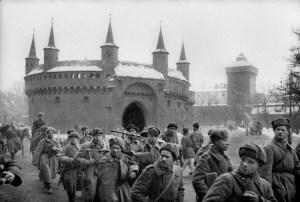 Barbakan Cracóvia 1945