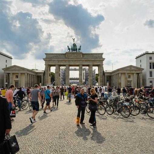 Portão de Brandenburgo 2014