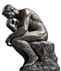 O pensador de Rodin