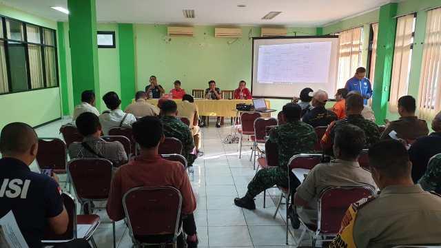 Technikal Meeting, Panitia Undi Jadwal Pertandingan Turnamen Tiga Pilar Cup 2020 Jakbar