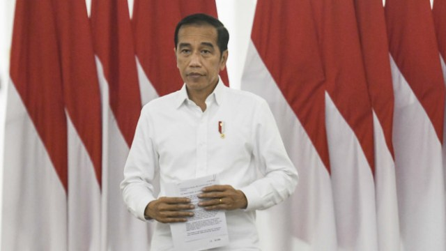Jokowi Kel;uarkan 6 Stimulus Rkonomi Redam Dampak Wabah Covid-19