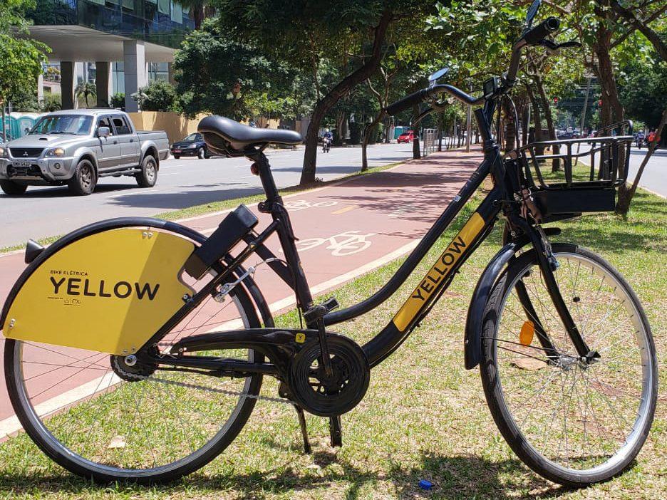 A empresa é a primeira empresa a oferecer serviço de bicicleta elétrica compartilhada. Os equipamentos já estão disponíveis em São Paulo. Foto: divulgação