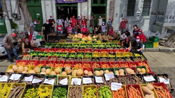 Movimentos sociais articulam distribuição de comida diante do aumento da desigualdade no Brasil - A fome de hoje diz muito sobre o futuro. Foto: MST
