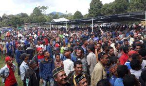 Massa Pendukung TABIR saat Kampanye akbar di Pocoranaka. (Radarntt)