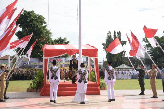 Upacara Bendera HUT Kabupaten Batang