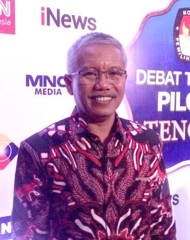 Ketua KPU Jawa Tengah Joko Purnomo