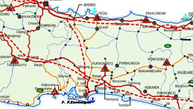 Peta Tol Bandung - Yogyakarta