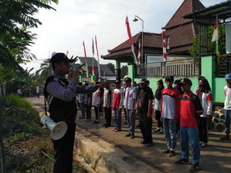 Polisi dan TNI Bersinergi Latih Paskibra