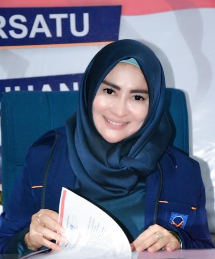 Tanty Prasetyaningrum, Ketua DPD Nasdem Kota Tegal
