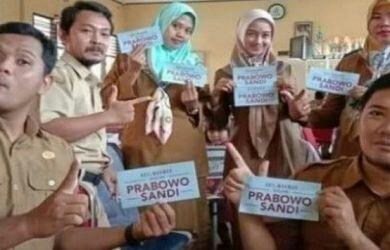 Enam Guru Honor Pendukung Prabowo Batal Dipecat, Ini Alasannya